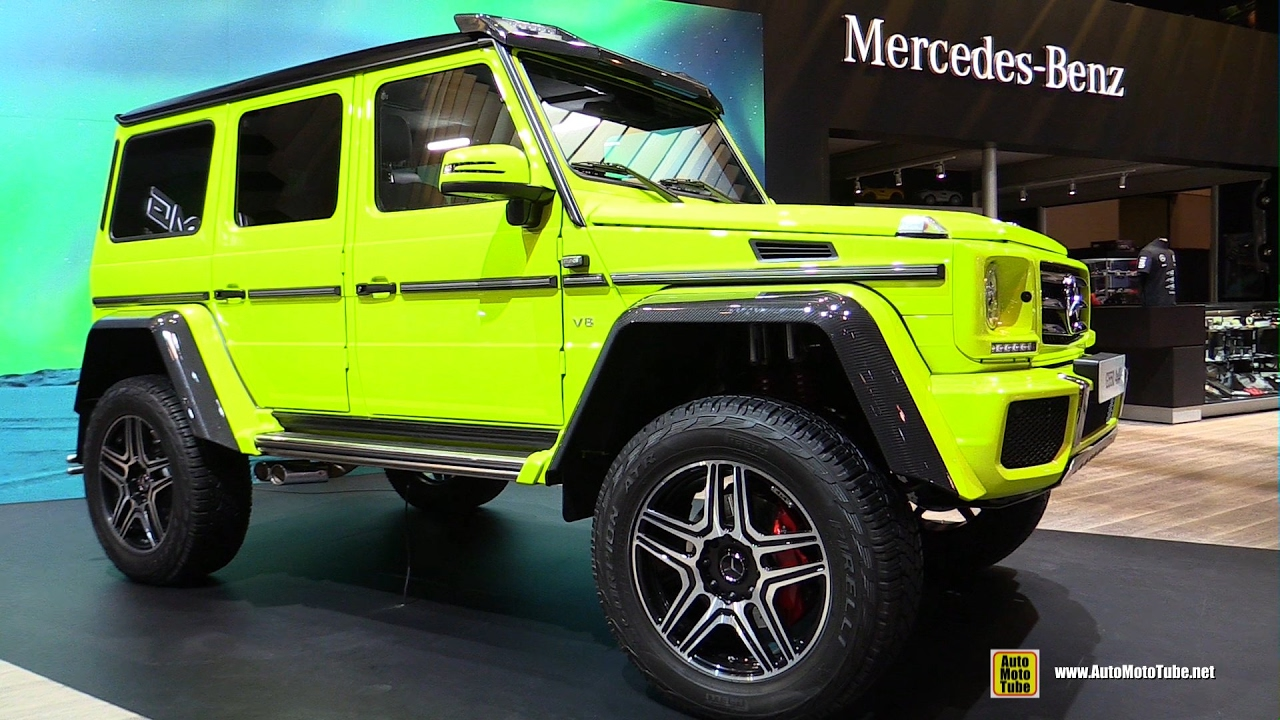 2017 Mercedes G550 4x4 Squared Exterior And Interior Walkaround Toronto Auto Show You