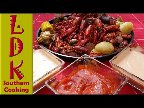 LDK: Seafood Dipping Sauces (Three Types)