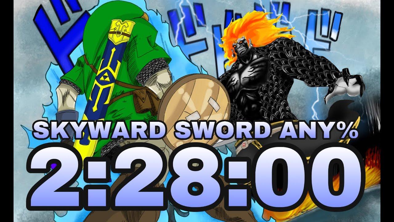 Skyward Sword Any% in 2:28:00.100 (part 2)