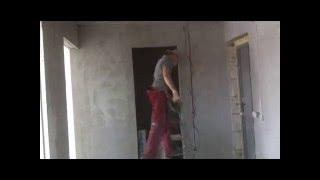 видео Штроба под кабель. Штробление гипсокартонной стены под укладку кабеля. Электрик Алматы