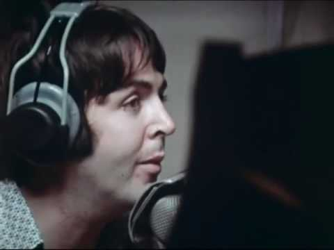 RARE VIDEO - The Beatles Hey Jude  In Studio Remastered 12