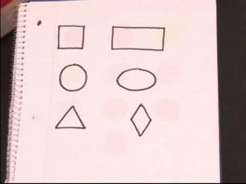 Teaching Kindergarten Math : How to Teach Kids Color & Shapes