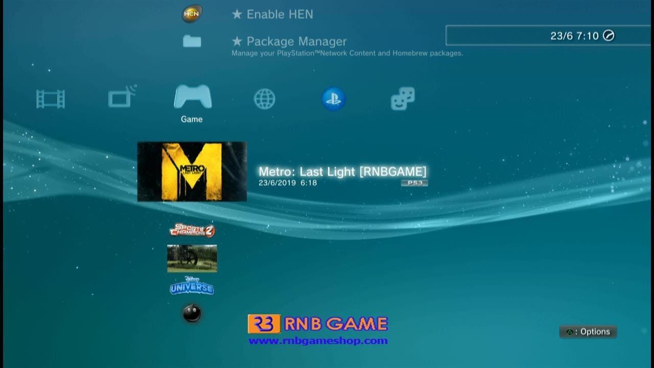 Metro Last Light PKG PS3 HEN v2 2 2