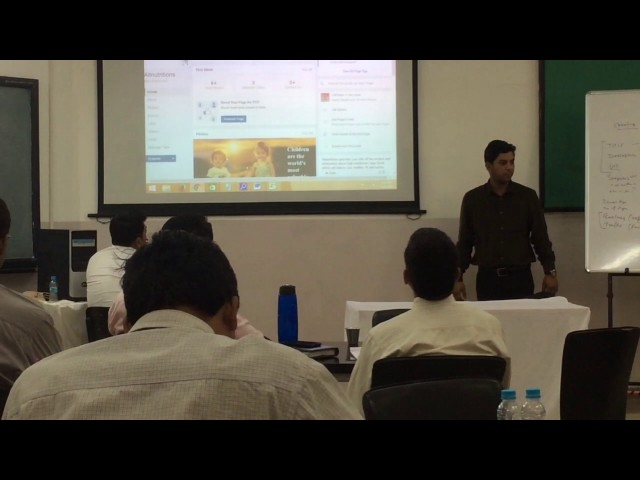 Digital Marketing Overview at Indira College - School of digital Marketing