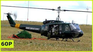 STUNNING XL RC SCALE BELL UH-1D WITH LOADS ELECTRICAL HELICOPTER WITH SOUNDMODUL