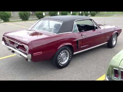1968 Ford Mustang GT Coupe - 250 HP