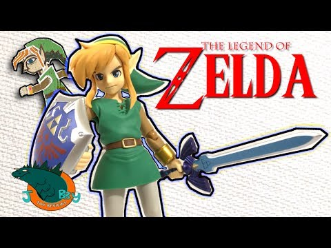 Legend of Zelda Link Between Worlds Figma Review