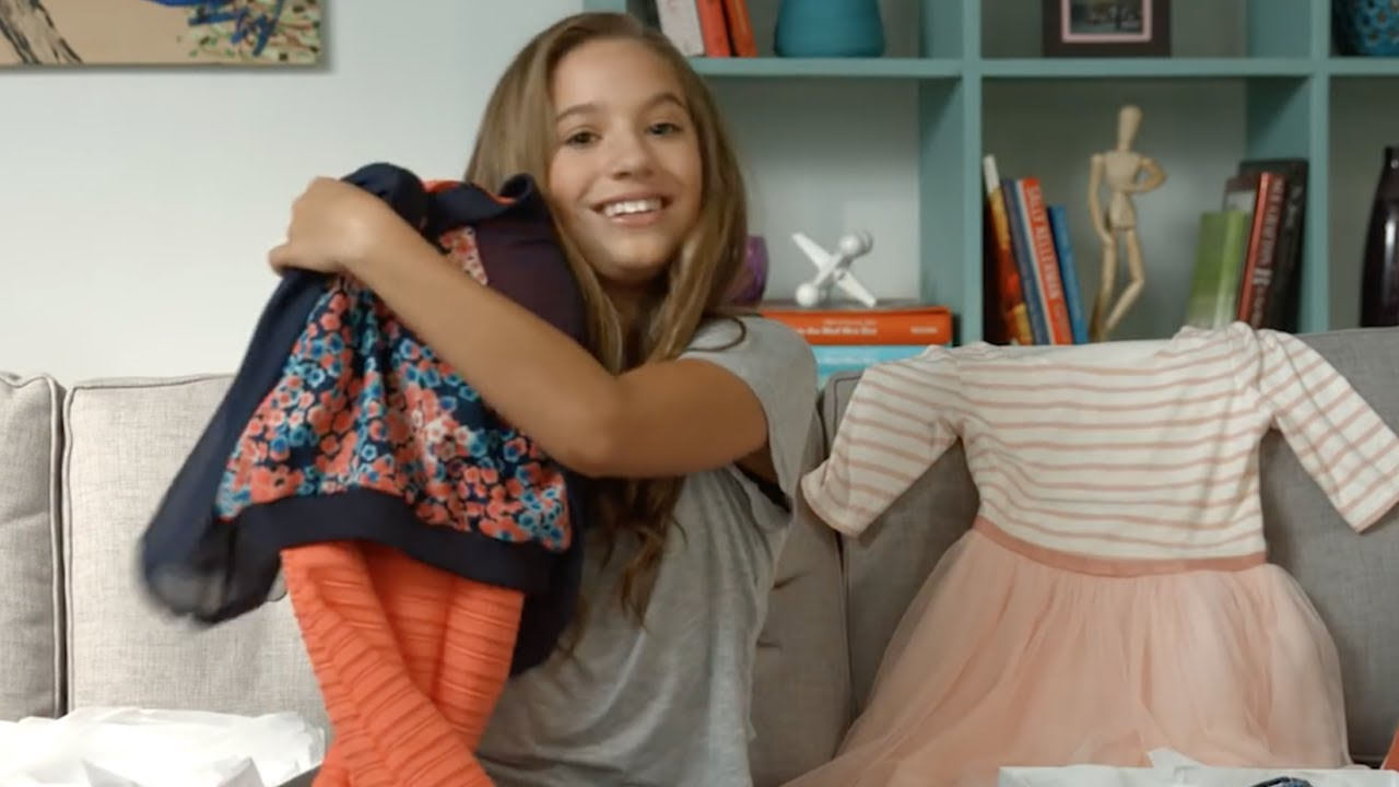 88cb9e3fc4c7 Mackenzie Ziegler Is Selling Her USED Clothes - YouTube