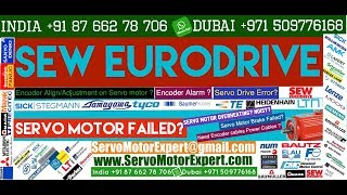 SEW Eurodrive Servo Motor Shuts Off After Reaching High or Full Speed, Repair Servo Drive, stegmann