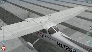 How to start engine of CESSNA 172SP [Flight Simulator X 10] Mobile