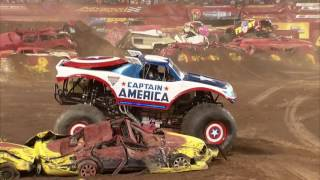 Monster Jam in Metlife Stadium - East Rutherford, NJ 2012 - Full Show - Episode 3