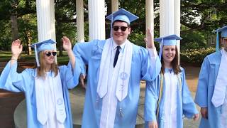Highlights from Spring Commencement 2018 at Carolina