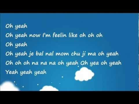 GD and TOP ft. Park Bom - Oh Yeah (easy lyrics)