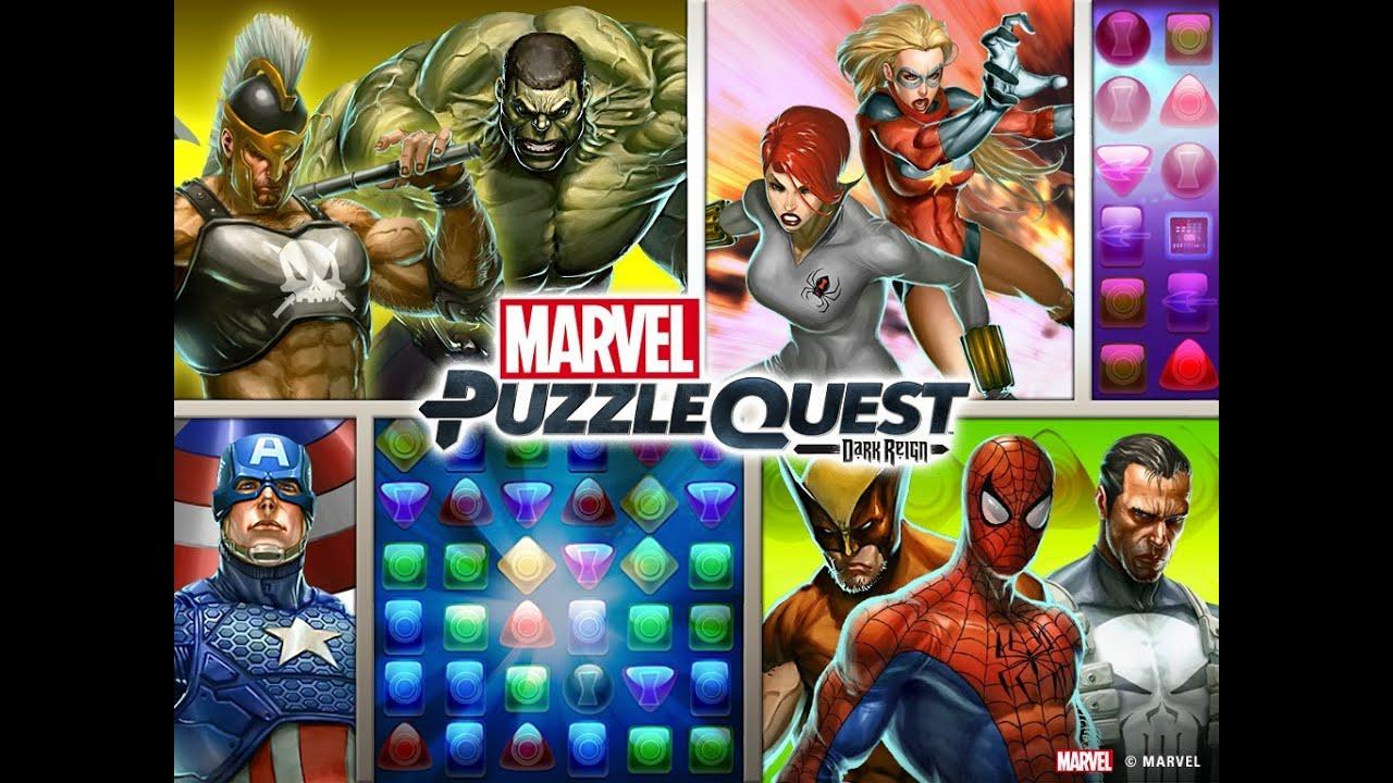 Marvel Puzzle Quest: Dark Reign App Launch Trailer