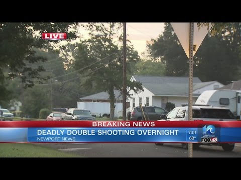 Man killed in Newport News double shooting identified