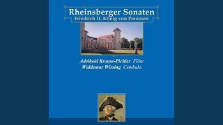 Sonata for flute & continuo in G minor: II. Allegro
