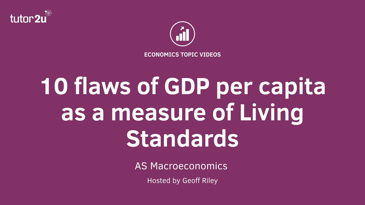 Measuring National Income (GDP) | Economics | tutor2u
