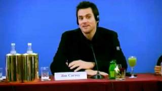 YES MAN - Jim Carrey Zooey Deschanel Peyton Reed PRESS CONFERENCE Conferenza Stampa 2 (audio Eng)