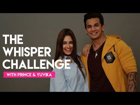 Prince Narula & Yuvika Chaudhary | The Whisper Challenge | Hello Hello | MissMalini