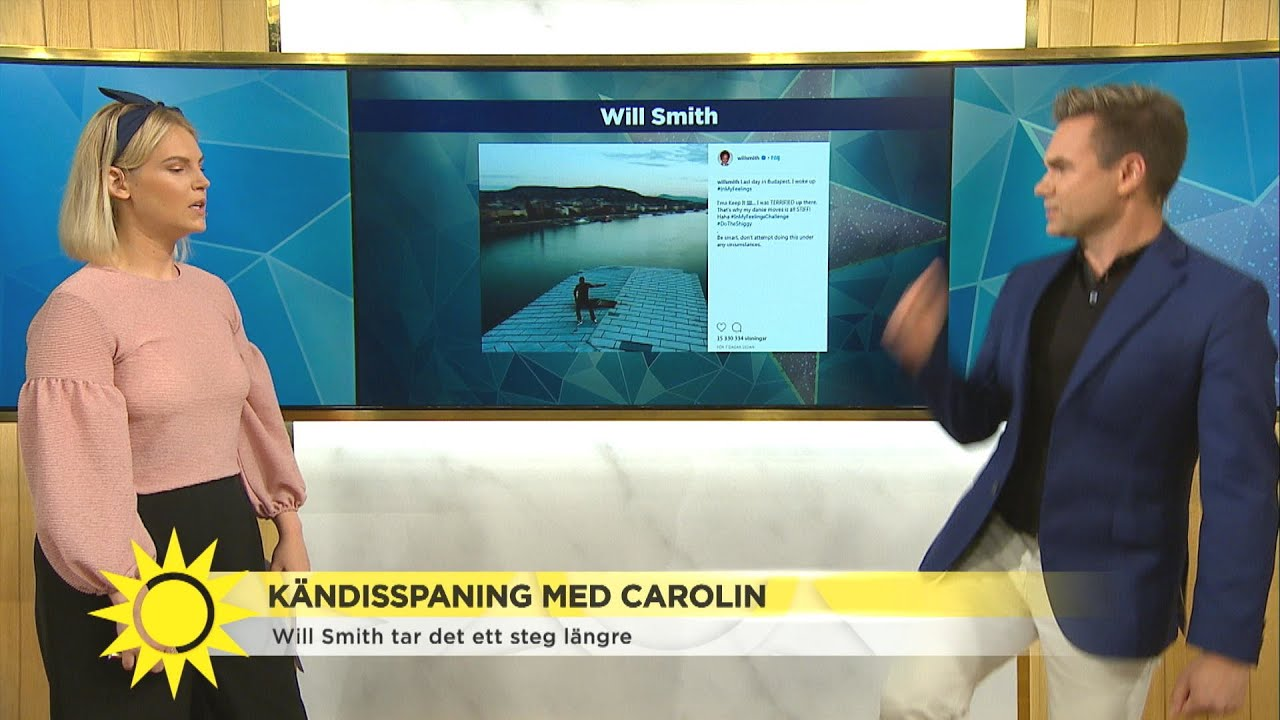 Här rockar Anders loss till nätets hetaste danstrend  - Nyhetsmorgon (TV4)