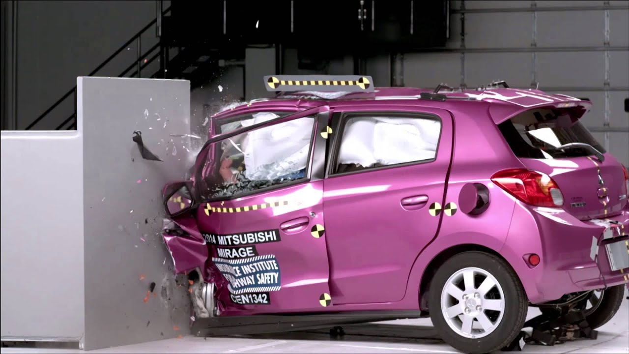 small cars selected crash tests automototv