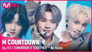 'COMEBACK' 글로벌 돌풍 '투모로우바이투게더'의 'No Rules' 무대 #엠카운트다운 EP.712 | Mnet 210603 방송