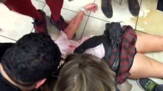 Brutal Fight Woman Knocked Out!!!