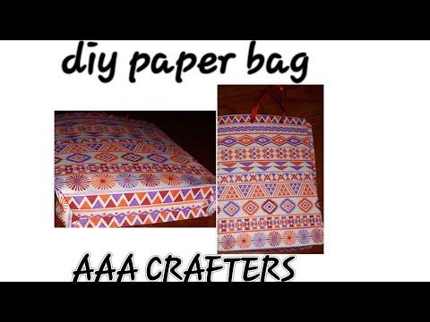 DIY PAPER BAGS......🖤