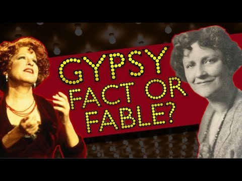 The Twisted Accounts behind Gypsy: A Musical Fable