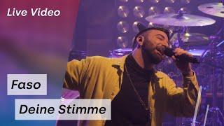 FASO - Deine Stimme (LIVE in Hannover)