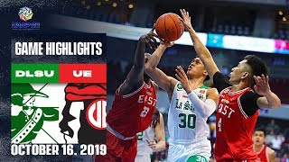DLSU vs. UE - October 16, 2019  | Game Highlights | UAAP 82 MB