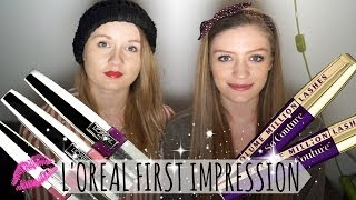 First Impression on L'oreal Volume Million Lashes So Couture Mascara and Caresse Lip Stain Thumbnail