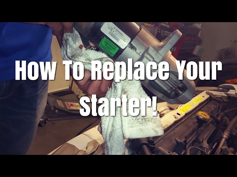 Here Is How To Replace A Starter On A Infiniti i30 Or Nissan Maxima