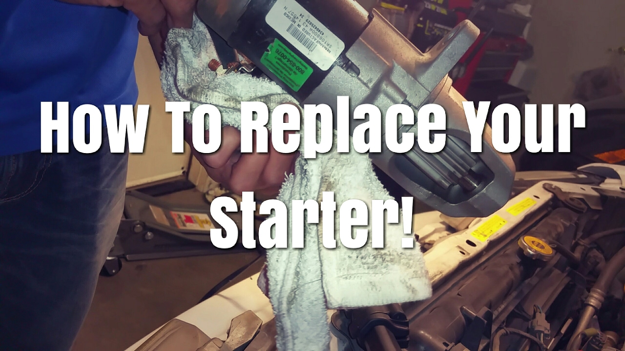 Here Is How To Replace A Starter On Infiniti I30 Or Nissan Maxima