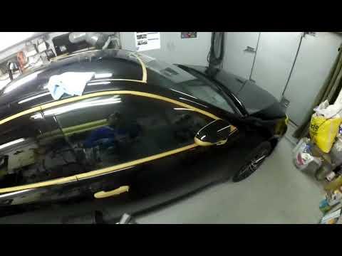Полировка автомобиля чёрного цвета, подробно о всех особенностях и секретах ч 2