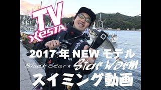XESTATV XESTA2017年新作ワームスイミング動画