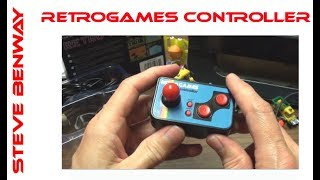 RETROGAMES controller. Orb Gaming 200 in 1 RETRO TV GAMES