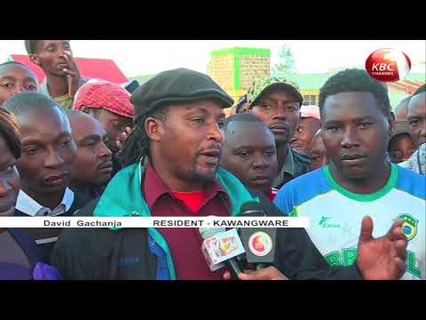 Kawangware residents want government to address unemployment