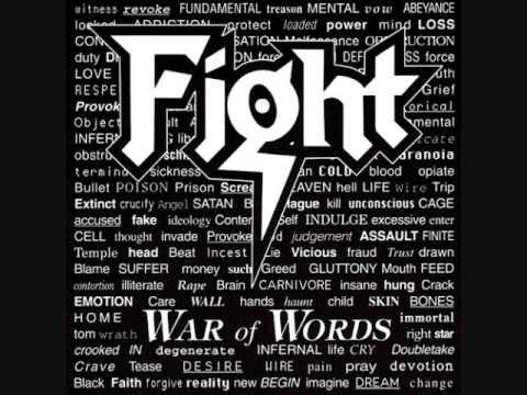Fight War Of Words War Of Words 1994