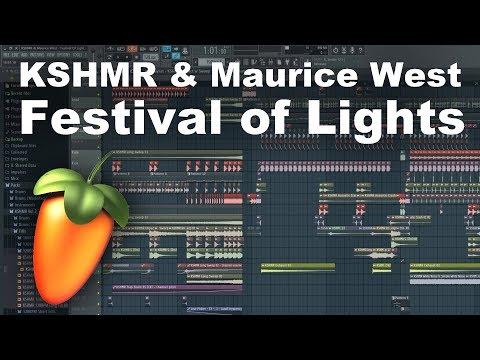 KSHMR & Maurice West - Festival of Lights [FL Studio Remake]