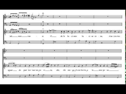 Possente spirto (L'Orfeo - C. Monteverdi) Score Animation