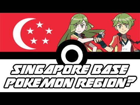 WHAT IF THE NEXT POKEMON REGION IS BASE ON SINGAPORE