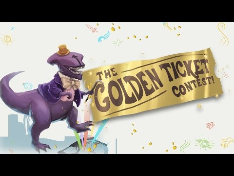 Golden Ticket to TI5 Contest