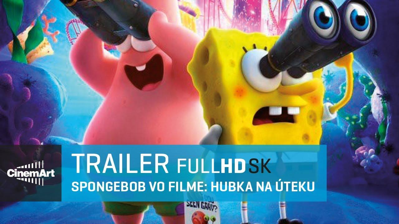 Spongebob vo filme: Hubka na úteku (2020) oficiálny HD trailer [SK DAB]
