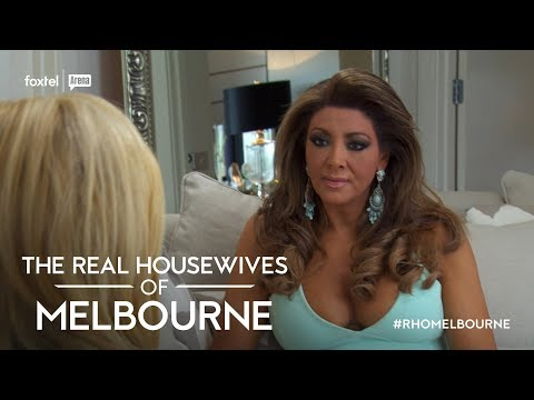 Season 3 Exclusive: Gina vists Gamble | The Real Housewives of Melbourne