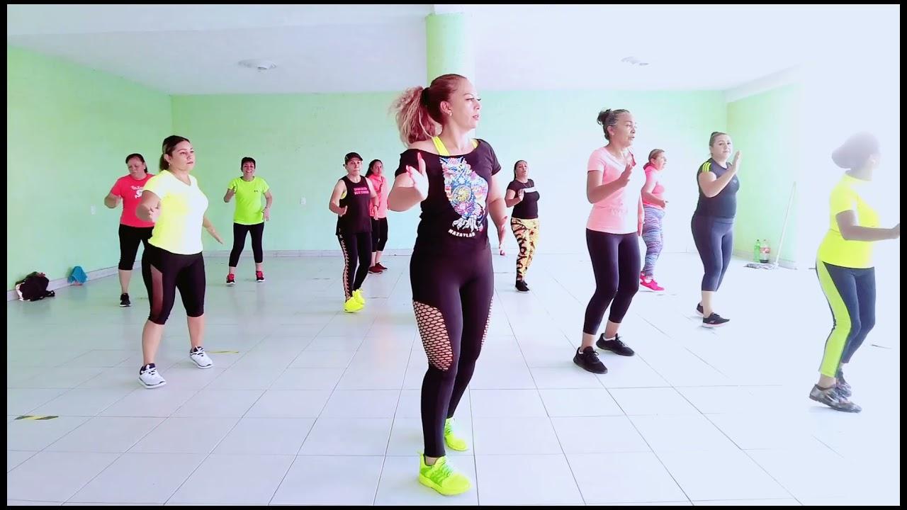 DEJAME VOLVER CONTIGO cumbia (miireya fraimart) baile fitness