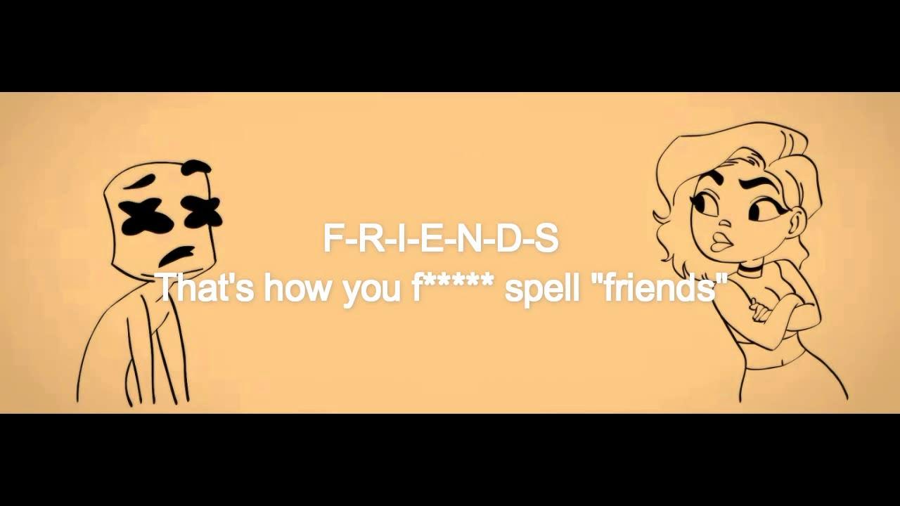 Marshmello Anne Marie Friends Subtitulada Lyrics