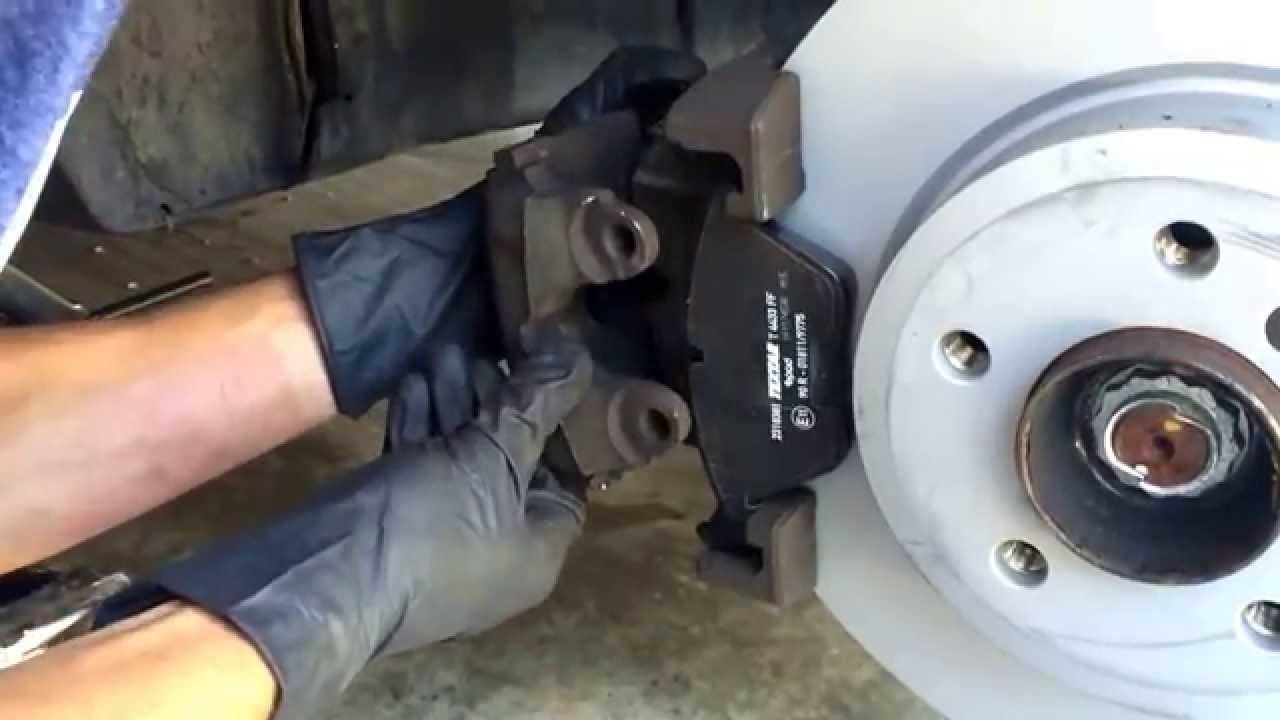 How to change the break pads and rotors on bmw x3 2005