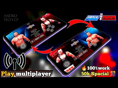 Download How To play WWE SMACKDOWN VS RAW 2011 (SVR 2011) Multiplayer in PSP EMULATOR