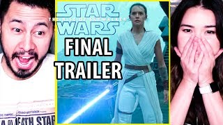 Star Wars: The Rise of Skywalker | Final Trailer | Reaction | Jaby & Achara | Episode IX